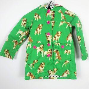 Boden Girls Coat Hooded Jacket